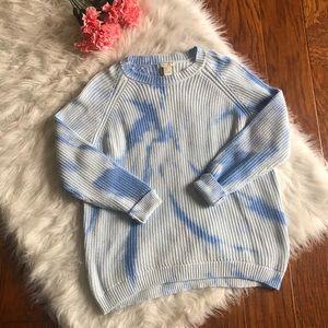Forever 21 Tye Dye Knit Sweater